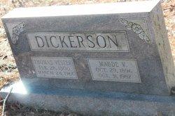 Maude <I>V</I> Dickerson