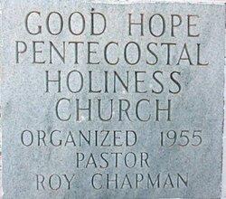 Good Hope Pentecostal Holiness Church Cemetery