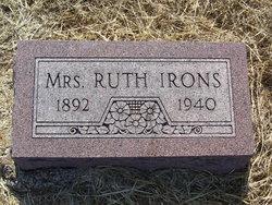 """Addie Ruth """"Ruth"""" <I>Gray</I> Irons"""