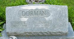 Lucy E <I>Cole</I> Dorman