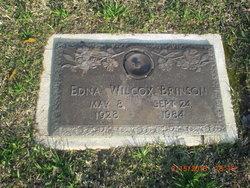 Edna <I>Wilcox</I> Brinson