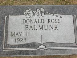 Donald Ross Baumunk