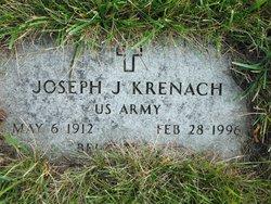 Pvt Joseph J Krenach