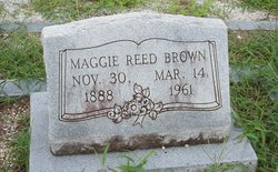 Maggie <I>Reed</I> Brown