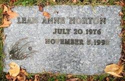 Leah Anne Horton