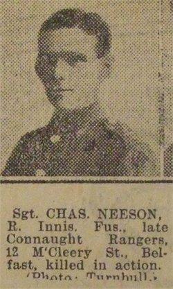 "Serjeant Charles Joseph ""Charlie"" Neeson"