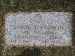 Robert L Addison