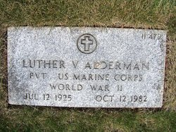 Luther Vernon Alderman