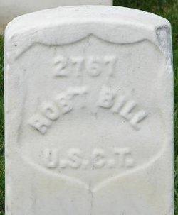 Pvt Robert Bill