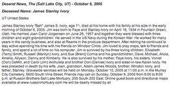 James Stanley Ivory