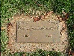 Cyrus William Hatch
