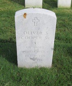Oliver S Cooper, Sr