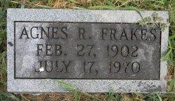 Agnes R <I>Goodson</I> Frakes