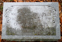 Walter Myles Phillips, III