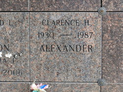 Clarence Henry Alexander