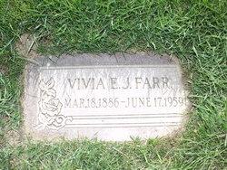 Vivia Elizabeth <I>Johnson</I> Farr