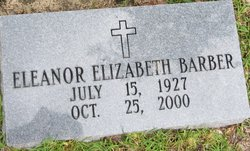 Eleanor Elizabeth Barber