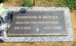 Josephine <I>Hankins</I> Motley