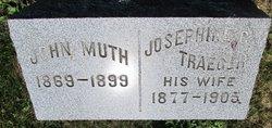 Josephine C. <I>Traeger</I> Muth