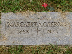 Margaret A <I>Kenny</I> Carroll