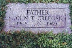 John T Creegan