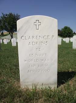 Clarence P Adkins