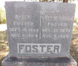 "Sally Belle ""Sweet"" <I>Trainer</I> Foster"