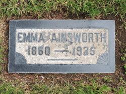 Emma <I>Hostetler</I> Ainsworth