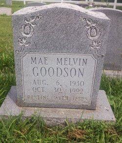 Mae Melvin Goodson