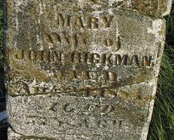 Mary <I>Varner</I> Hickman