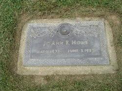Joann <I>Simons</I> Hons