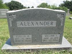 "Estella Marie ""Stella"" <I>Letterman</I> Alexander"