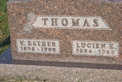 Vada Esther <I>Van Sickle</I> Thomas