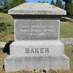 Almina Harden <I>Josselyn</I> Baker