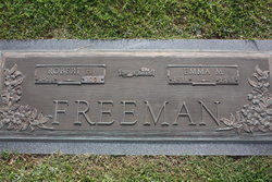 Emma Marie <I>Brown</I> Freeman