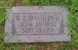 """William Edward """"W.E."""" Bashford"""