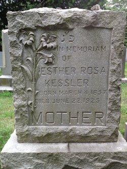Esther Rosa <I>Messer</I> Kessler
