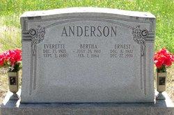 Ernest W. Anderson, Sr