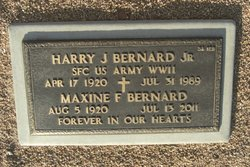 Harry J Bernard, Jr