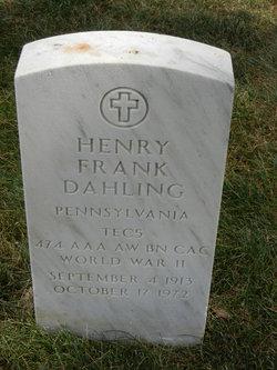 Henry Frank Dahling