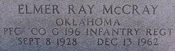 PFC Elmer Ray McCray
