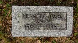 Frances <I>Dark</I> Ames