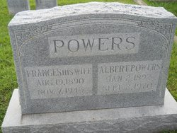Frances <I>Warner</I> Powers