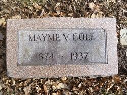Mayme Viola <I>Baker</I> Cole
