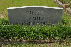 Miles Chapel Baptist Church Cemetery