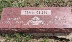 Mamie May <I>Kearn</I> Overlin
