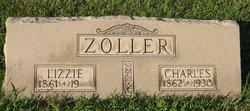 """Elizabeth """"Lizzie"""" <I>Woodward</I> Zoller"""