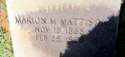 Marion M. Mattison
