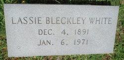 Lassie <I>Bleckley</I> White