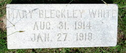 Mary Bleckley White